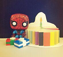 Spider-Man Birthday by FendekNaughton