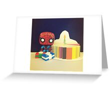 Spider-Man Birthday Greeting Card