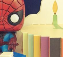 Spider-Man Birthday Sticker