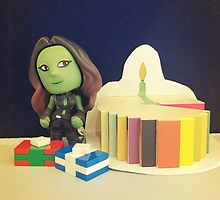 Gamora Birthday by FendekNaughton
