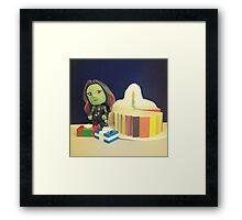 Gamora Birthday Framed Print