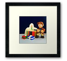 Mal Birthday Framed Print