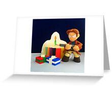 Mal Birthday Greeting Card