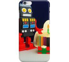 Robot Birthday iPhone Case/Skin