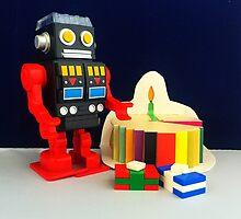 Robot Birthday by FendekNaughton