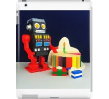 Robot Birthday iPad Case/Skin