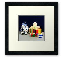 R2-D2 Birthday Framed Print