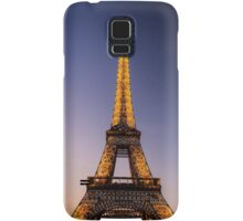 Eiffel Tower and sunset (2) Samsung Galaxy Case/Skin