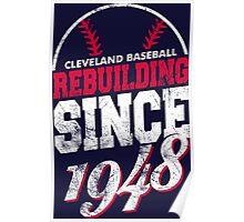 Cleveland Baseball Rebuilding Poster