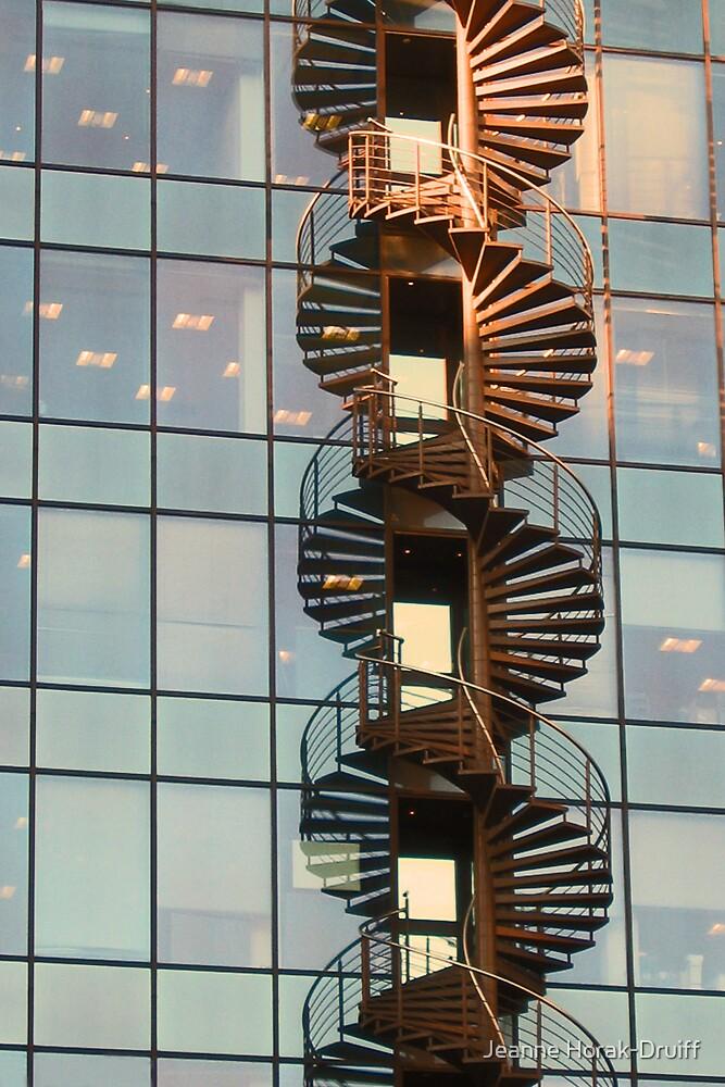 Double helix by Jeanne Horak-Druiff