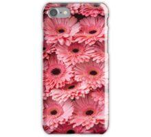 Pink Peach Gerbera. Amsterdam Flower Market iPhone Case/Skin