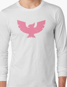 Captain Falcon Symbol - Super Smash Bros. (color, Pink) Long Sleeve T-Shirt