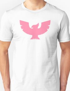 Captain Falcon Symbol - Super Smash Bros. (color, Pink) Unisex T-Shirt