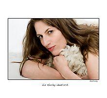 Liz Hurley lookalike Monika Kullig Photographic Print