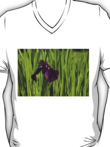 Sunny Green and Purple Summer T-Shirt