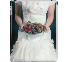 strawberries iPad Case/Skin