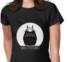 Skeletotoro Womens Fitted T-Shirt