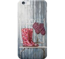 for rainy days iPhone Case/Skin