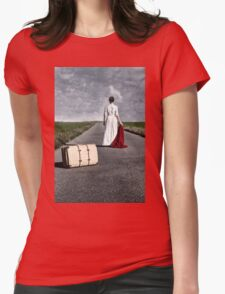 farewell Womens Fitted T-Shirt