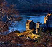 Eilean Donan Castle from Carr Brae. Dornie, Western Highlands of Scotland. by photosecosse /barbara jones