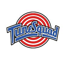 Tunes Squad - Space Jam Logo Photographic Print