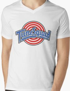 Tunes Squad - Space Jam Logo Mens V-Neck T-Shirt