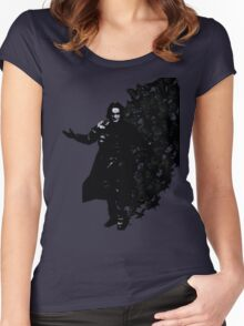 Gothic crow Women's Fitted Scoop T-Shirt