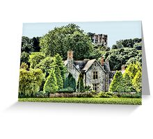 The Belvedere Tower Greeting Card