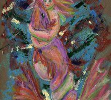 Mermaid and Fish by Lee Kerr