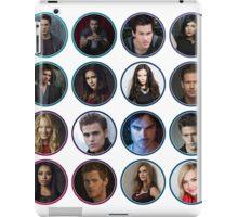 Vampire Diaries Circles iPad Case/Skin