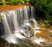 Lower Somersby Falls by Michael Matthews