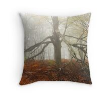 The spider tree Throw Pillow