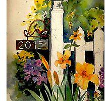Gate Post by Myhandyourheart