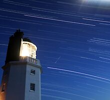 St Anthony's Lighthouse Star Trails by Mark Hobbs