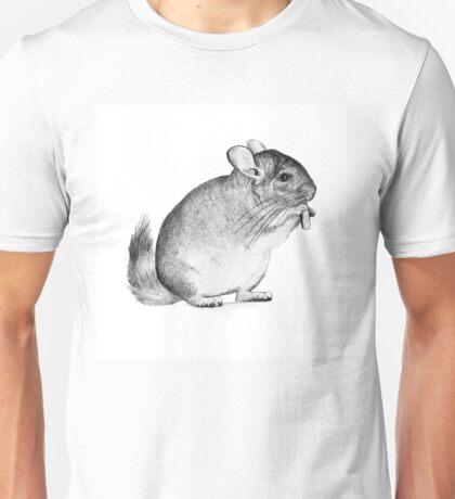 chinchilla,drawing, pencil ,sketch Unisex T-Shirt