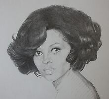 Diana Ross by Brooke Shane