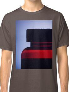 Vitamin pill bottle silhouette photograph Classic T-Shirt