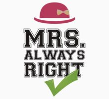 Mrs. Always Right Collection #10002 by mycraft