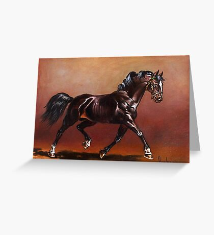 Stallion Greeting Card