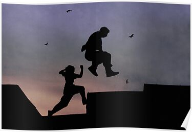 Clyde Parkour by Linda  Morrison