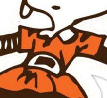 Johnny Manziel Cleveland Browns Elf Sticker