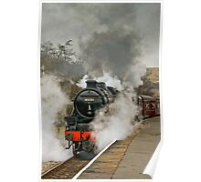 Black FIve 'The Sherwood Forester' at Rawtenstall Poster