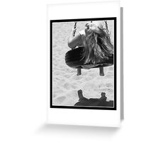 Bliss on a Swing Greeting Card