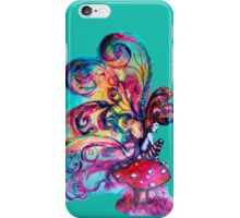 SMALL ELF OF MUSHROOMS iPhone Case/Skin