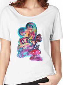 SMALL ELF OF MUSHROOMS Women's Relaxed Fit T-Shirt