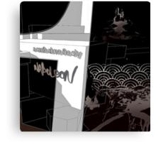 EP 1: A Castle Above The Sky - Sleeve Canvas Print