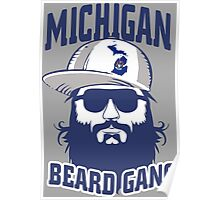 Michigan Beard Gang Poster