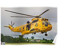 A Westland Sea King HA3.3 XZ593 Search & Rescue Poster