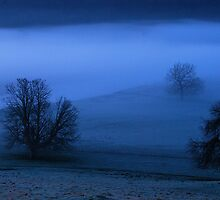 Blue Mist by Simon Pattinson