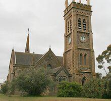 """St Andrew's Church, Strathalbyn"" by Gail Mew"